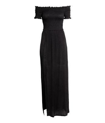 H m black and white skull dresses