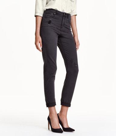 mom jeans black women h m us. Black Bedroom Furniture Sets. Home Design Ideas