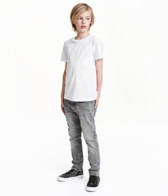kinder jungen gr 134 170 jeans skinny fit h m de. Black Bedroom Furniture Sets. Home Design Ideas