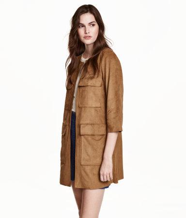 H&M Imitation Suede Coat $59.99