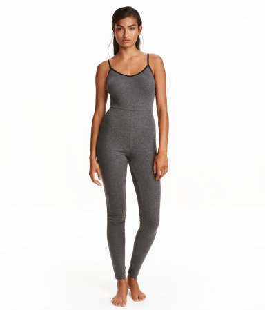 jersey jumpsuit women h m us. Black Bedroom Furniture Sets. Home Design Ideas