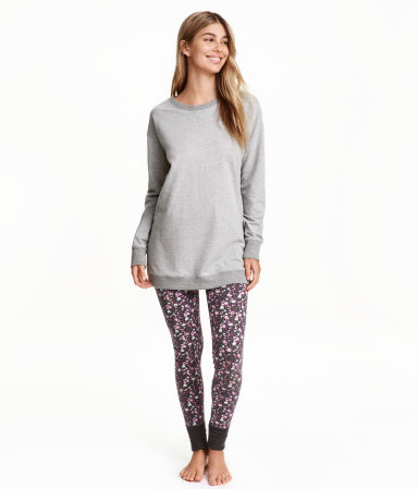 H&M Pajamas with Top and Leggings $24.99