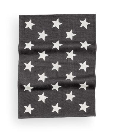 cotton rug charcoal gray home h m us. Black Bedroom Furniture Sets. Home Design Ideas