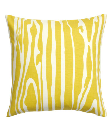 Cotton Cushion Cover Yellow SALE H&M US