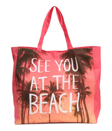 H&M Beach Bag $12.99