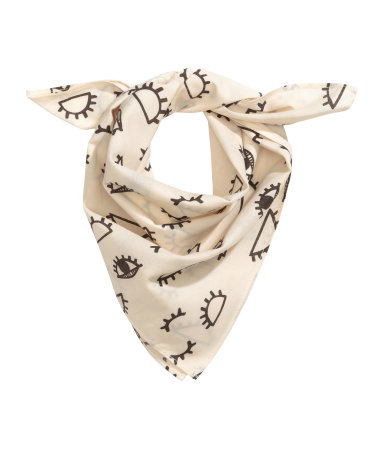 H&M Patterned Cotton Scarf $5.99
