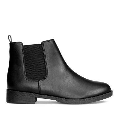 Chelsea Boots   Black   Women   H&M US  Chelsea Boots