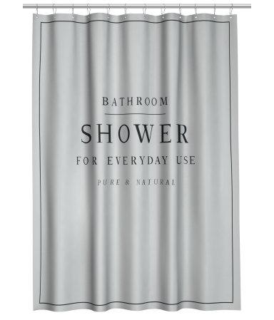 HM Shower Curtain 1999