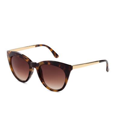 sunglasses tortoise women h m us. Black Bedroom Furniture Sets. Home Design Ideas