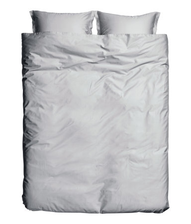 H&M Washed Satin Duvet Cover Set $79.99