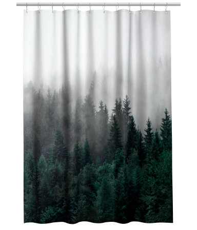 HM Printed Shower Curtain 2999