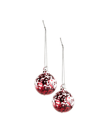 2 pack christmas ornaments red sale h m us for H m christmas decorations