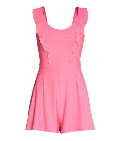 jumpsuit pink sale h m us. Black Bedroom Furniture Sets. Home Design Ideas