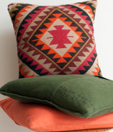 Jute cushion cover 50x50