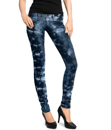 H&M skinny :  skinny jeans
