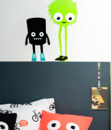 3-pack wall stickers