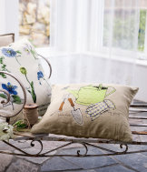 Linen cushion cover 40x40