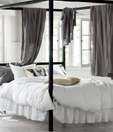 Linen duvet cover set double