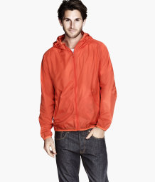 Waterproof nylon jacket