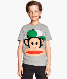 T-shirt with Paul Frank print