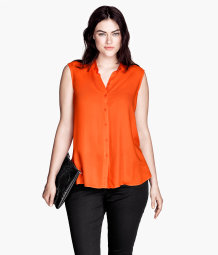 H&M+ Sleeveless Blouse
