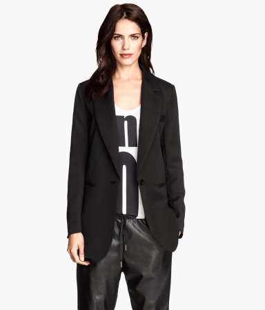 Long Jacket | Black | Women | H&M US