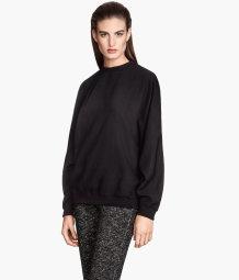 Top with dolman sleeves