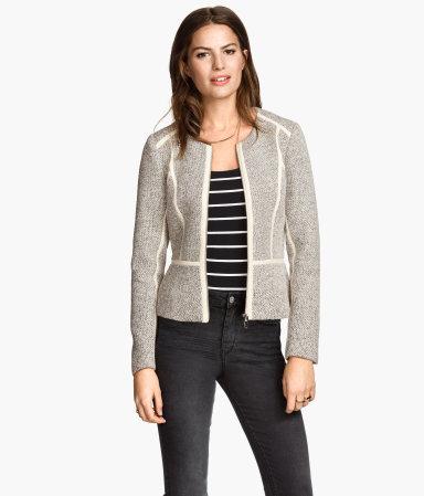 Short Jacket | Natural white | Women | H&M US