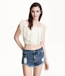 Short lace top