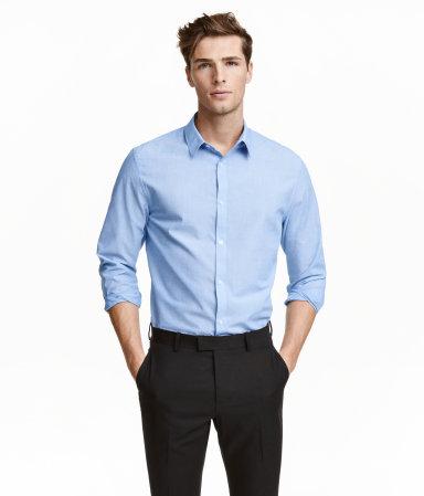 H&M Mens Easy-Iron Shirt