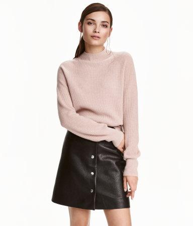 Cashmere Sweater Powder Pink Melange Ladies H Amp M Us