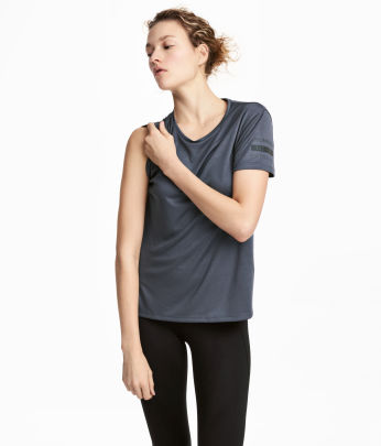 Short-sleeved Running Top