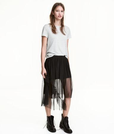 Tulle Skirt | Black | Women | H&M US