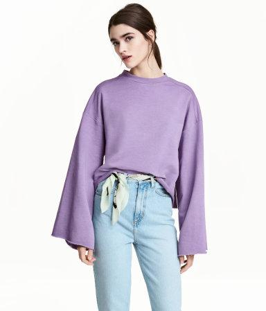 Wide-cut Sweatshirt