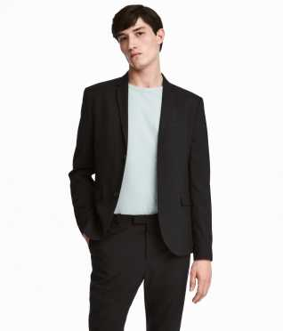Blazer Slim fit | Black | MEN | H&M US
