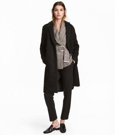 Short Wool-blend Coat