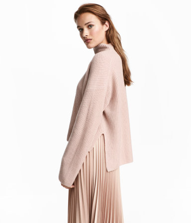 Cashmere Sweater | Powder pink | WOMEN | H&M US
