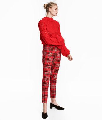 Dressy Slim-fit Pants
