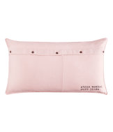 Linen cushion cover 50x90