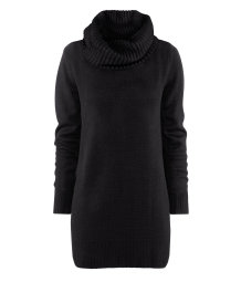 Polo-neck jumper