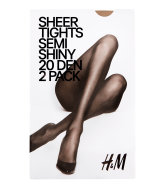 20 den 2-pack tights