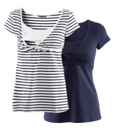 MAMA Pack de 2 tops de lactancia