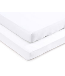 2-pack baby fitted sheet