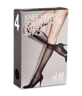 20 den 4-pack knee highs