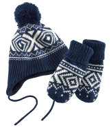 Set gorro y manoplas