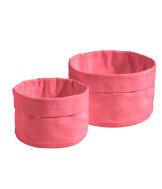 2-pack textile baskets
