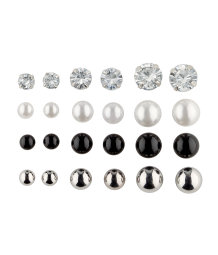 12 Pairs Earrings