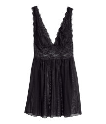 Lace negligee