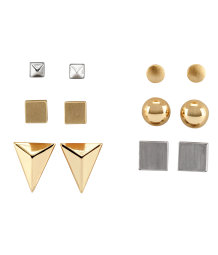 6 pairs earrings