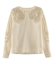 Embellished sweatshirt